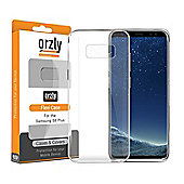 Orzly FlexiCase Cover for Samsung S8 Plus - CLEAR