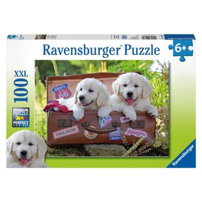 Traveling Pups XXL100 Puzzle