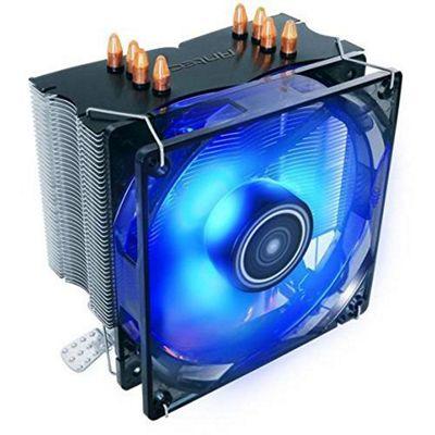 Antec C400 Heatsink & Fan, All Intel & AMD Sockets, Whisper-quiet 12cm LED PWM Fan, Rifle Bearing