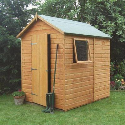 7 x 5 Premier Tongue & Groove Shed Wooden Shed (12mm T&G Floor) (7ft x 5ft)