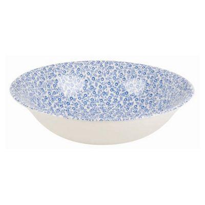 Burleigh Blue Felicity Soup Bowl 20.5cm