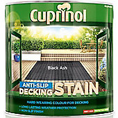 Cuprinol Anti Slip Decking Stain - Black Ash - 2.5 Litre