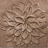 Dahlia Copper 60cm x 60cm