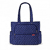 Skip Hop Forma Pack and Go Changing Tote - Navy Dot