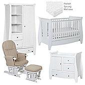 Tutti Bambini Lucas 5 Piece Nursery Roomset