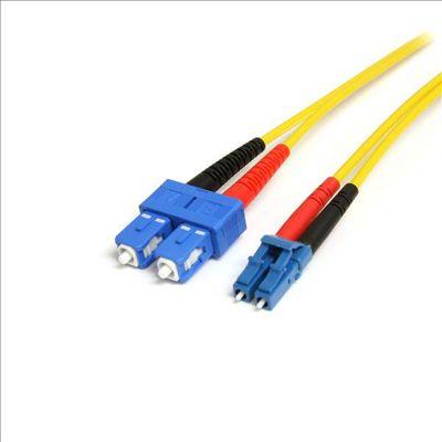 StarTech 4m Single Mode Duplex Fiber Patch Cable LC-LC