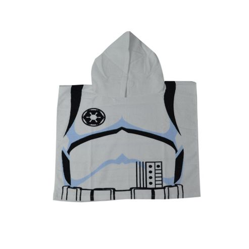 Disney Star Wars Storm Trooper 90% cotton 10% polyester Poncho