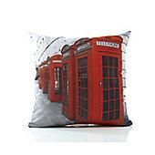 Alan Symonds Classic Phone Boxes Cushion Cover - 43x43cm