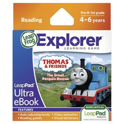 LeapFrog LeapPad Ultra eBook- Thomas & Friends- The Great Penguin Rescue