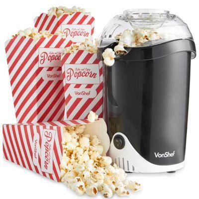 vonshef fatfree hot air popcorn maker - Popcorn Makers