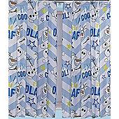Disney Frozen Olaf Curtains 66 inch x 54 inch (168cm x 137cm)