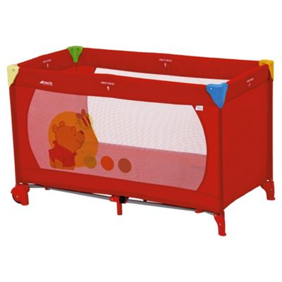 buy hauck dream n play go winnie the pooh travel cot from. Black Bedroom Furniture Sets. Home Design Ideas