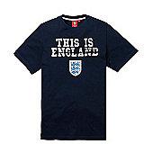 England Football Kids This is England Tee - Navy - Navy