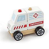 Viga Wooden Stacking Ambulance