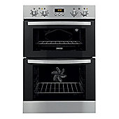 Zanussi ZOD35511XK 59cm Stainless Steel Electric Double Oven
