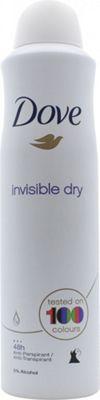 Dove Invisible Dry Deodorant Spray 250ml