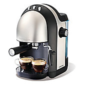 Morphy Richards 172004 Accents Espresso Coffee Maker 1000w Power in Brushed Steel