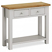 Farrow Painted Console Table - Matt Stone Grey