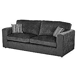 Taunton Large 3 Seater Sofa, Dark Grey