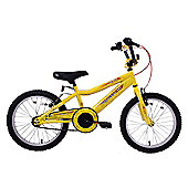 "Professional Spider 18"" Wheel Boys Bike Yellow"