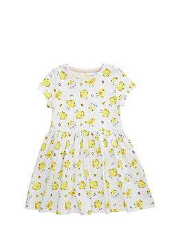 F&F Chick Print Skater Dress - Multi
