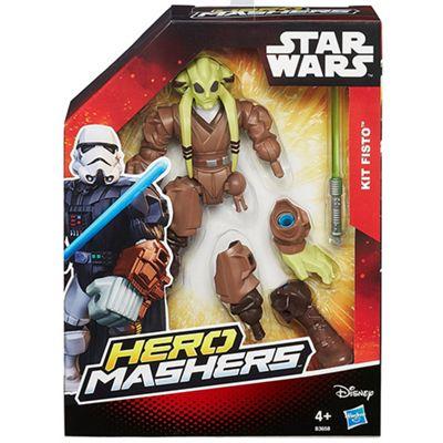 Star Wars 'Kit Fisto' Hero Mashers 6 Inch Figure Toys