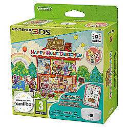 Animal Crossing Happy Home Designer + amiibo Card + NFC Reader / Writer 3DS
