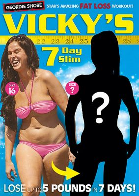 Vicky Pattison 7 Day Slim (Fitness DVD)