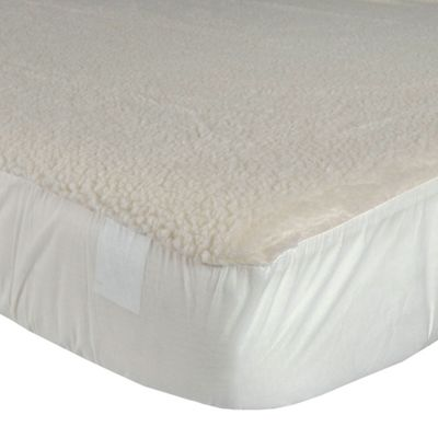 Homescapes Deep Fitted Fleece Double Underblanket