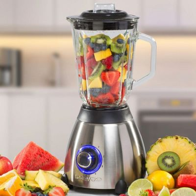 Daewoo Brushed Stainless Steel Jug Blender