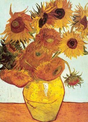 Twelve Sunflowers - Vincent Van Gogh - 1000pc Puzzle