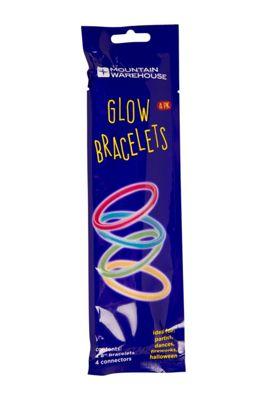 021745 GLOW BRACELETS 4PK