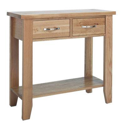 Sherwood Oak Small Console Table