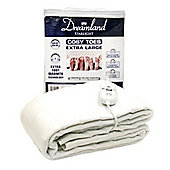 Dreamland 16156 Starlight Cosy Toes XL Underblanket with 3 Heat Settings
