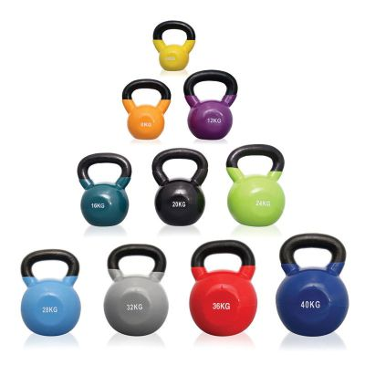 Body Power Ultimate Vinyl Coated Kettle Bell Weight Set