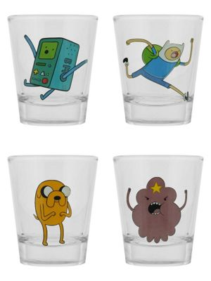 Adventure Time Set - Set Of 4 Shot Glasses