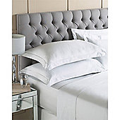 Riva Home Egyptian 400 Thread Count Flat Sheets - Silver