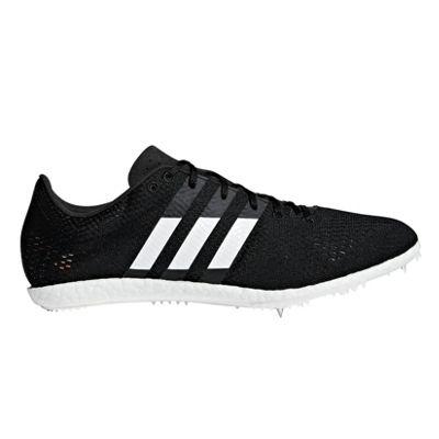 adidas adizero Avanti Long Distance Running Spike Shoe Black - UK 8