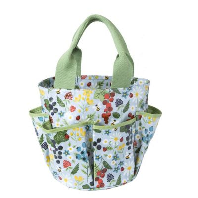 Large Patterned Gardening Bag