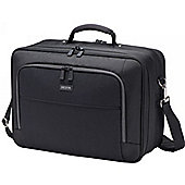 """Dicota Multi Twin ECO Carrying Case for 39.6 cm (15.6"""") Notebook, Tablet, iPad, Pen, Document, Business Card, ID Card, Cellular Phone, Accessories"""