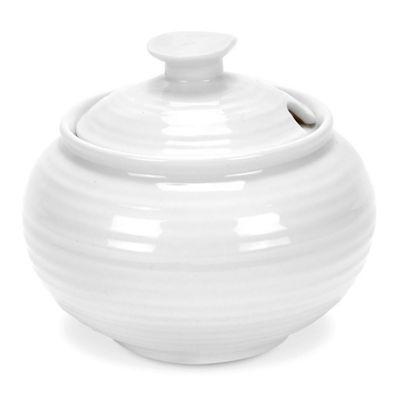 Portmeirion Sophie Conran White Sugar Bowl 0.31L