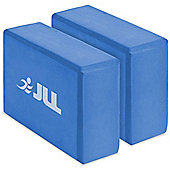 JLL Yoga Blocks x2 - Blue