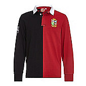 Sportfolio British & Irish Lions Long Sleeve Tour Jersey - Red