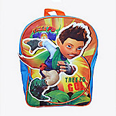 Tree Fu Tom Novelty 3D PVC Front Backpack