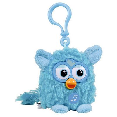 Furby Talking Key Ring - Blue