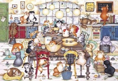 Cats Cookie Club - 500pc Puzzle