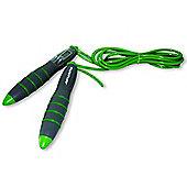 Tunturi Digital Skipping Jump Rope with Counter - Green