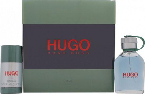 Hugo Boss Hugo Gift Set 75ml EDT + 75ml Deodorant Stick For Men