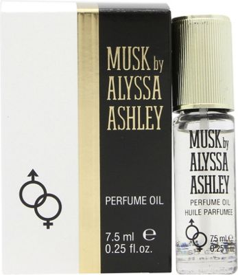 Alyssa Ashley Musk Perfume Oil 7.5ml For Women