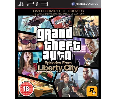 Grand Theft Auto - Episodes From Liberty City (PS3)